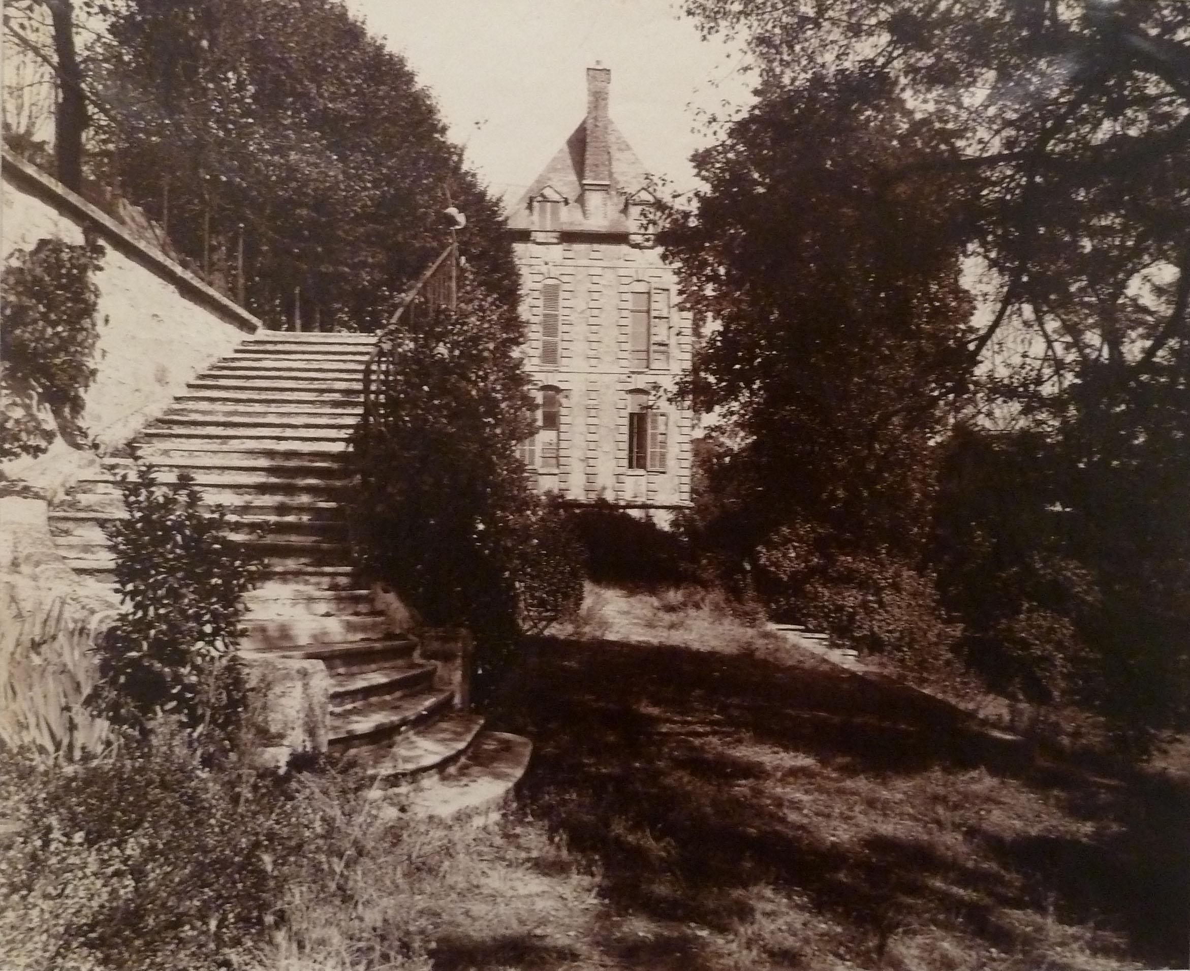Courbevoie – ancien Chateau dit de la Belle Gabrielli, 1901