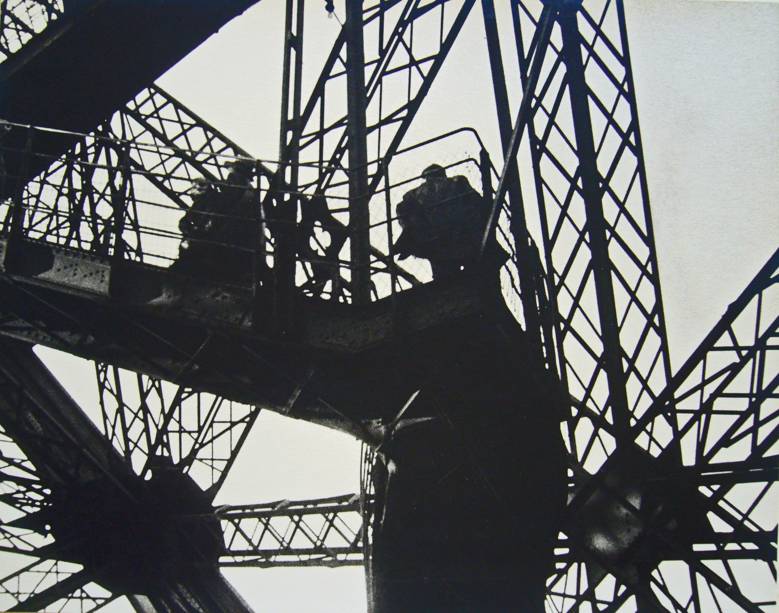 Eiffel Tower, Paris, 1932
