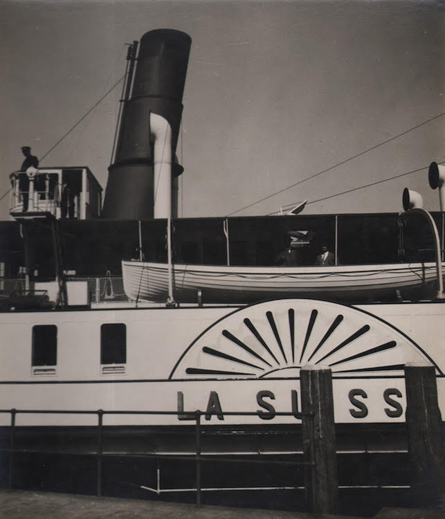 1. Untitled (Swiss boat), 1930s