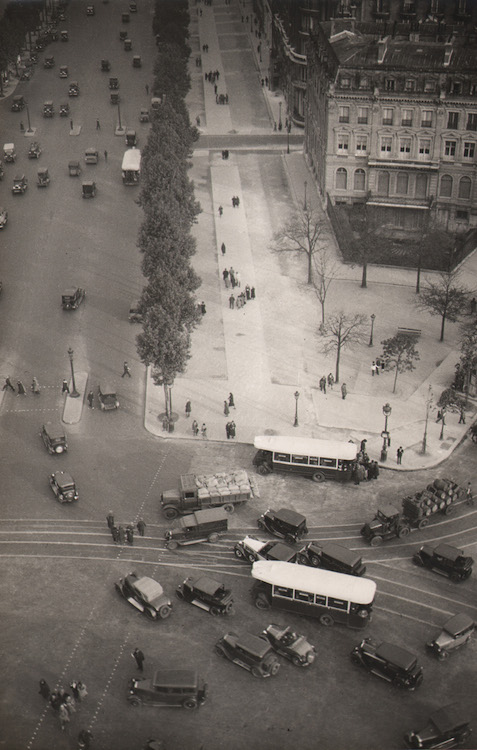 11. Untitled (view of Paris from above), 1930s