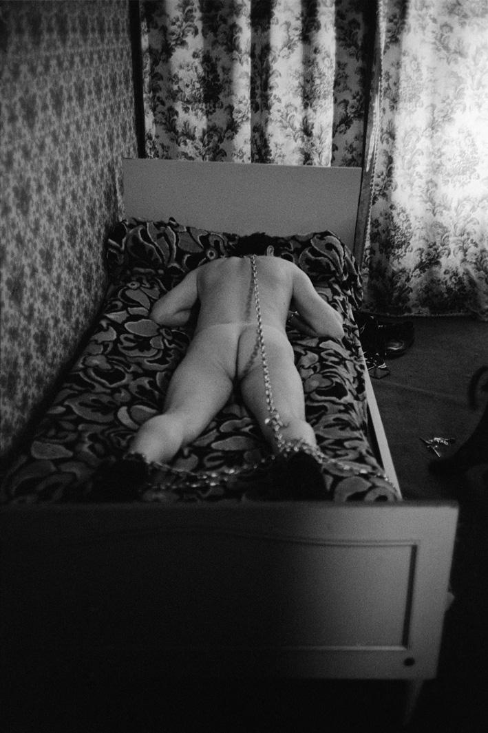 8. Rue des Lombards (Client allongé sur le lit), 1976-1977