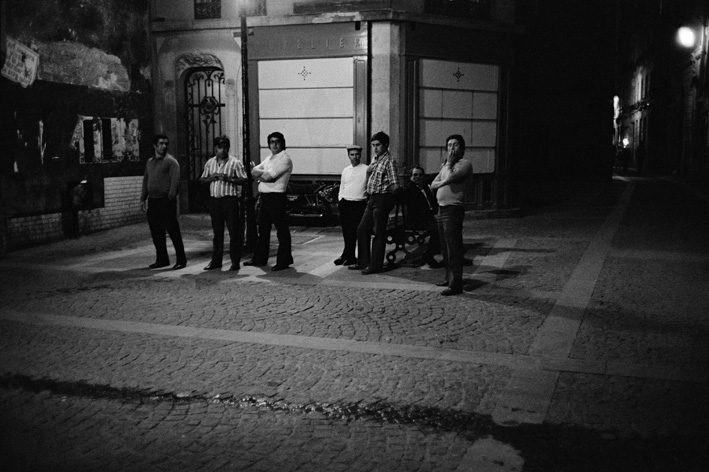 15. Rue des Lombards (Plusieurs hommes dans la rue), 1976-1977