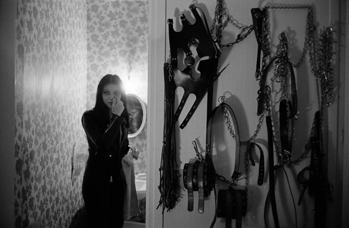 16. Rue des Lombards (Nadia avec materiaux), 1976-1977
