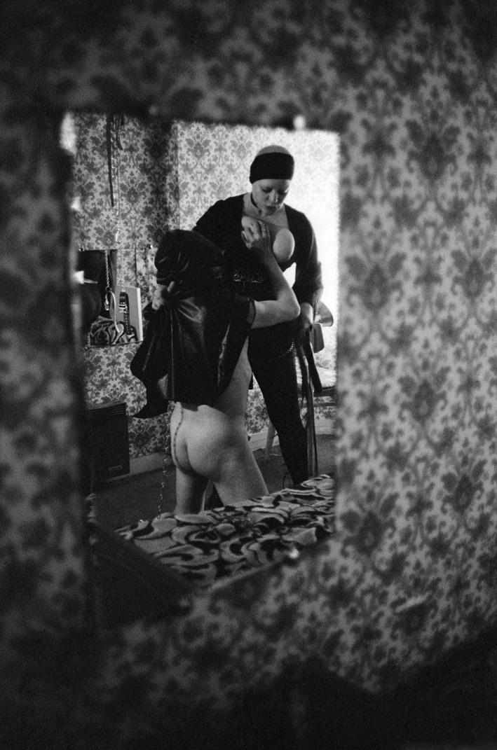19. Rue des Lombards (Blondine avec cagoulé), 1976