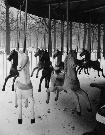 Jardin des Tuilleries, Paris 1950