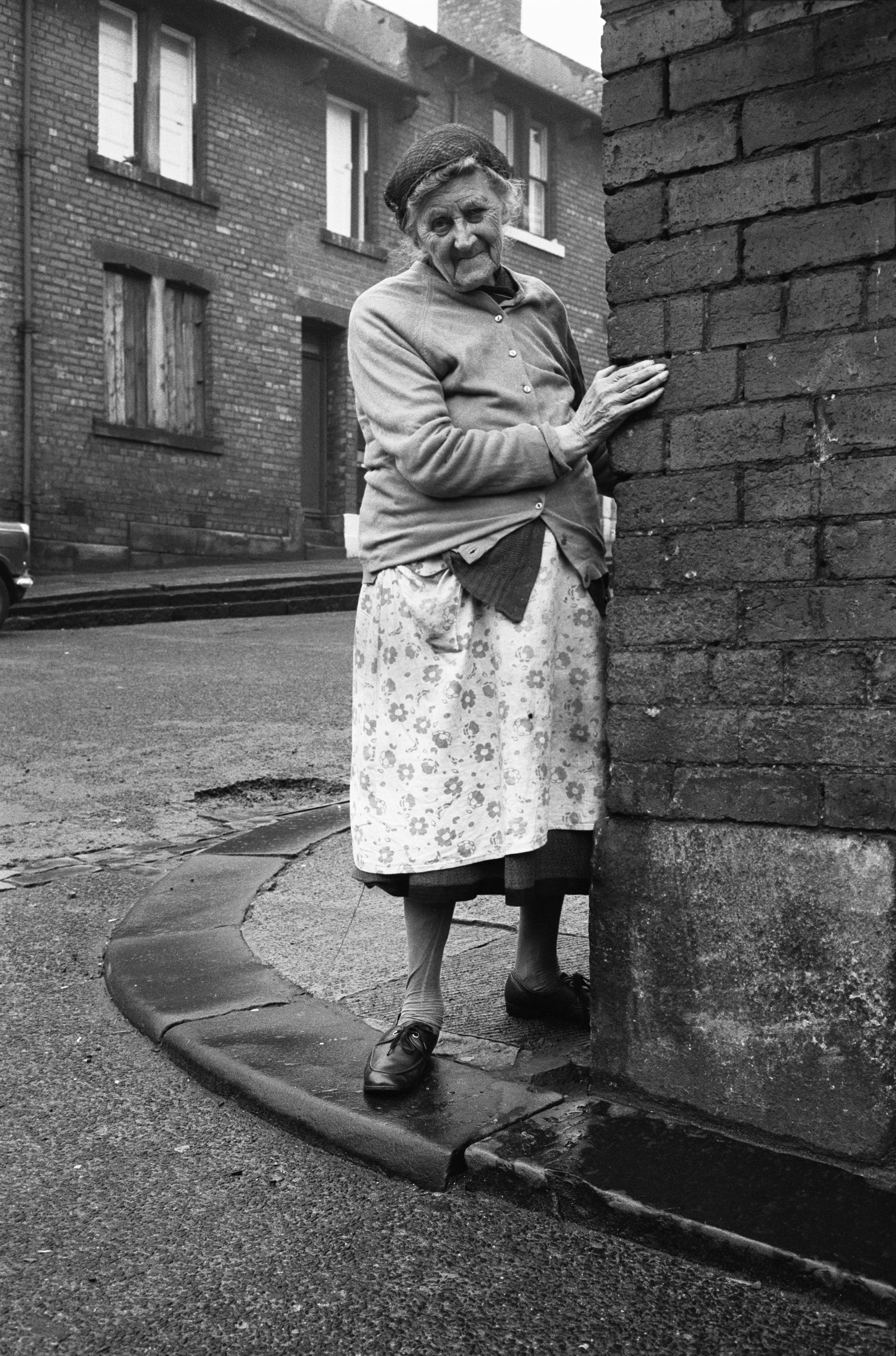 Mrs. Potter in Mason Street, 1975