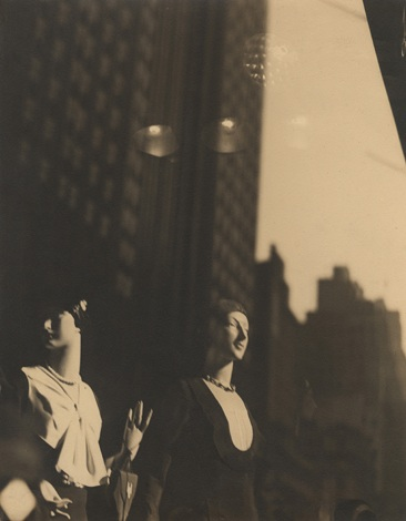Reflections in New York Shop Window, 1930s