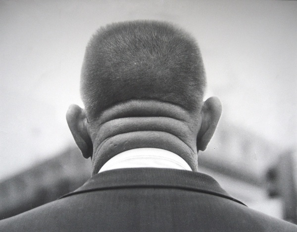Untitled (back of man's head), 1970s