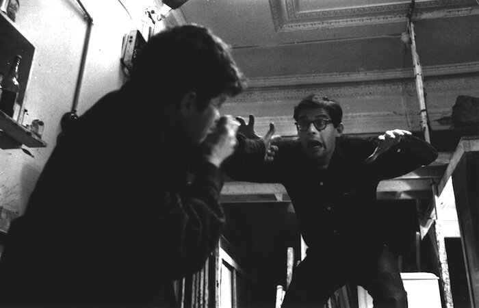 "Gregory Corso & Allen Ginsberg - Allen ""horrified"", 1959"