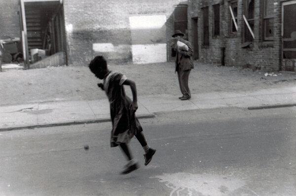 Oak Street, New Haven, 1955