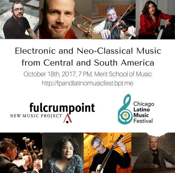 Latino Music Festival: Electronic and Neo-Classical Music from Central and South America