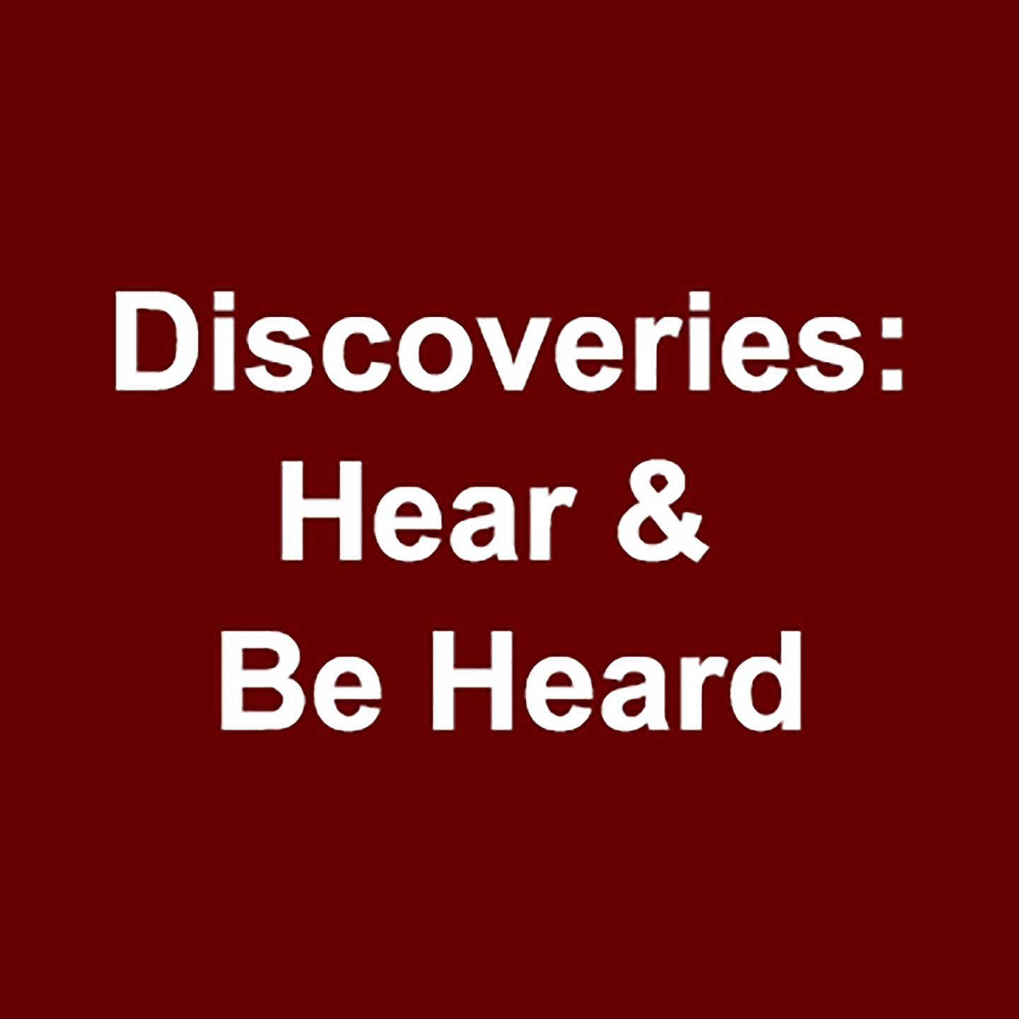 Discoveries: Emerging Composers: University of Chicago student composers