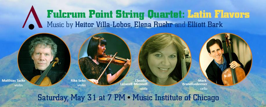 Fulcrum Point String Quartet: Latin Flavors