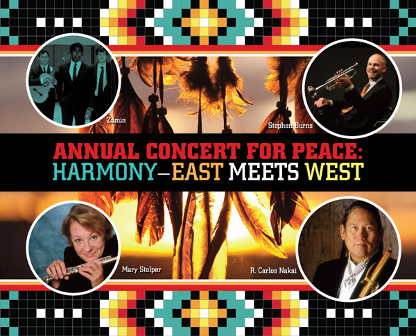 Annual Concert for Peace: Harmony – East Meets West