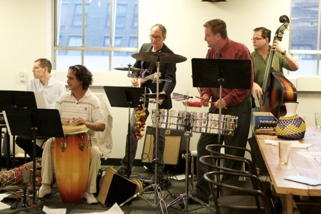 Reading Session: Music for Percussion
