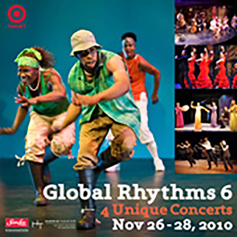 Chicago Human Rhythm Project presents Global Rhythms 6