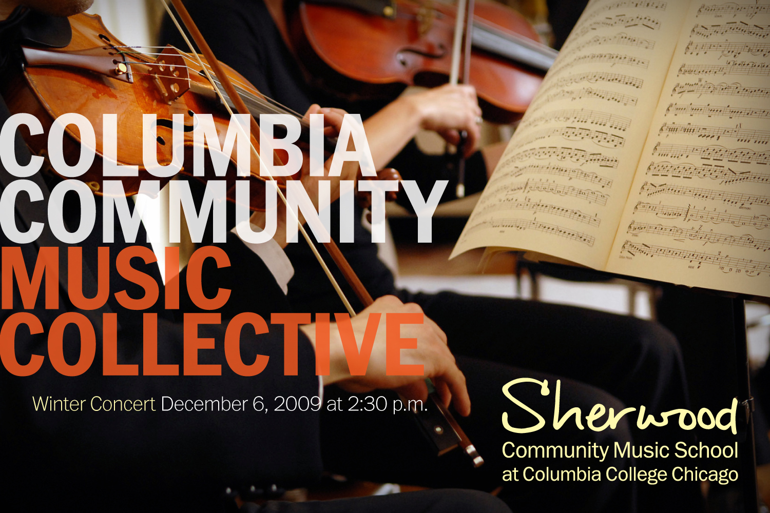 Winter Concert presented by Sherwood Community Music School at Columbia College Chicago