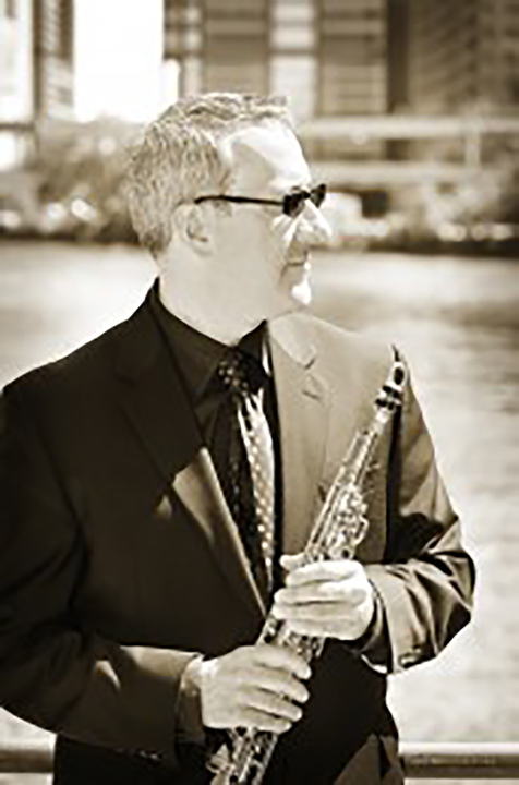 """Jim Gailloreto, Saxophone    Musical Affiliations:  Founder of Jazz String Quintet, Chicago Symphony Orchestra (extra), Grant Park Symphony Orchestra (extra), Broadway in Chicago, Recently: """"Motown"""", Chicago Sinfonietta, Chicago Chamber Musicians BakerzMillion, HardArtGroop, Volcano Radar, Music Now, Chroma Chamber Orchestra, William Ferris Chorale, Chicago Opera Theatre  Academic Affiliations:  Chicago College of the Performing Arts (Roosevelt University), University of Illinois at Chicago, Northwestern University, DePaul University  Musical Passsions:  Humanistic aspects of improvisation, composition and jazz. Thrilled when I hear Lenny Tristano, Brad Mehldau, The Bach Cello Suites or anything by Igor Stravinsky  Outside Interests:  Chess, Indian food, old radios, the philosophies of Eckhart Tolle, mechanical watches and music boxes, distant space"""