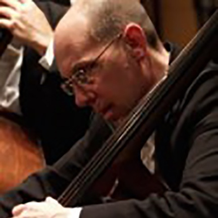 Collins Trier, Bass    Musical Affiliations:  Lyric Opera Orchestra, Chicago Philharmonic Orchestra, Music of the Baroque, the Contemporary Chamber Players of the University of Chicago, Present Music, the Ravinia Festival Orchestra, the Rembrandt Chamber Players, and Bach Week of Evanston
