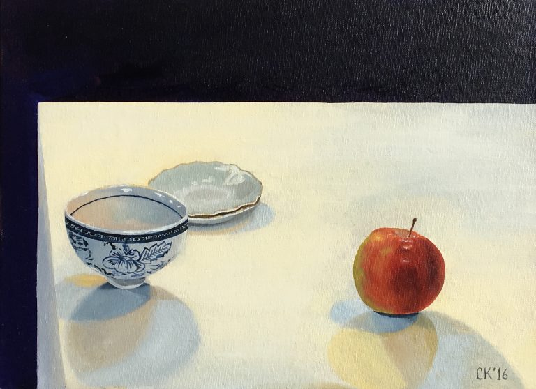 Apple and Porcelain