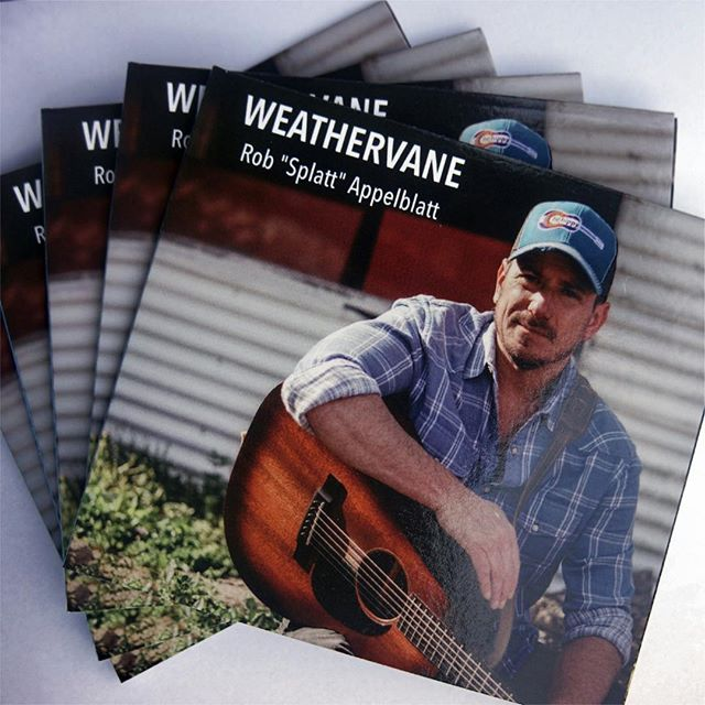 "My album ""Weathervane"" just released today on all music streaming platforms worldwide!  Please give it a good listen.  I'm grateful as always for your continued interest and support.  If you like it, please help me by sharing, liking, following, downloading, etc., etc.. A very special thanks again to the super talented Nashville team... Steve Werbelow, Chris Cottros, M Edward Finnie, Anton Nesbitt, Jody Nardone, Paulie Pgh Cookson, @Amos Rue & David T Hamilton.  Thank you! Rob https://www.robappelblatt.com  https://www.amazon.com/Weathervane-Rob-Splatt-Appelblatt/dp/B07T4HPFMF/ref=sr_1_1?keywords=Rob+%22Splatt%22+Appelblatt&qid=1563512446&s=dmusic&search-type=ss&sr=1-1  #americana #folk #music #guitar #blues #country #countrymusic #singersongwriter #acoustic #rocknroll #newmusic #musician #songwriter #indiemusic #singer #folkmusic #rock #americanamusic #nashville #steveearle #brucespringsteen"
