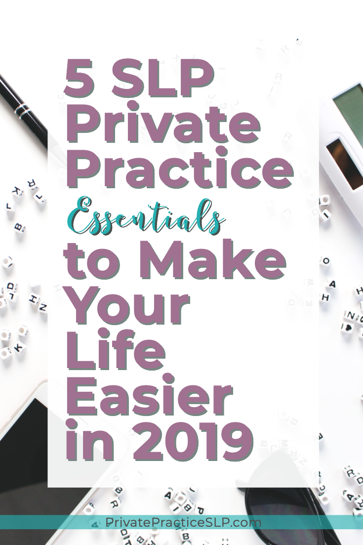 Essential tools for SLPs in private practice