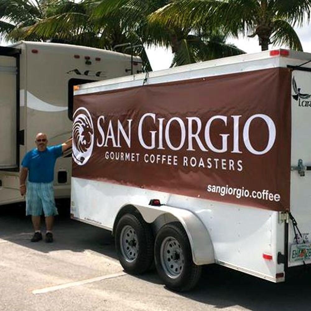 SanGiorgio Coffee Banner Design