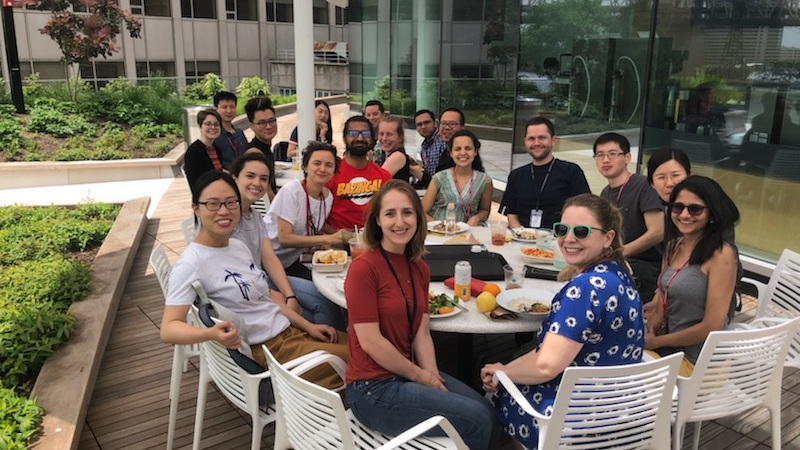 Lunch with Rock Lab at Rockefeller University