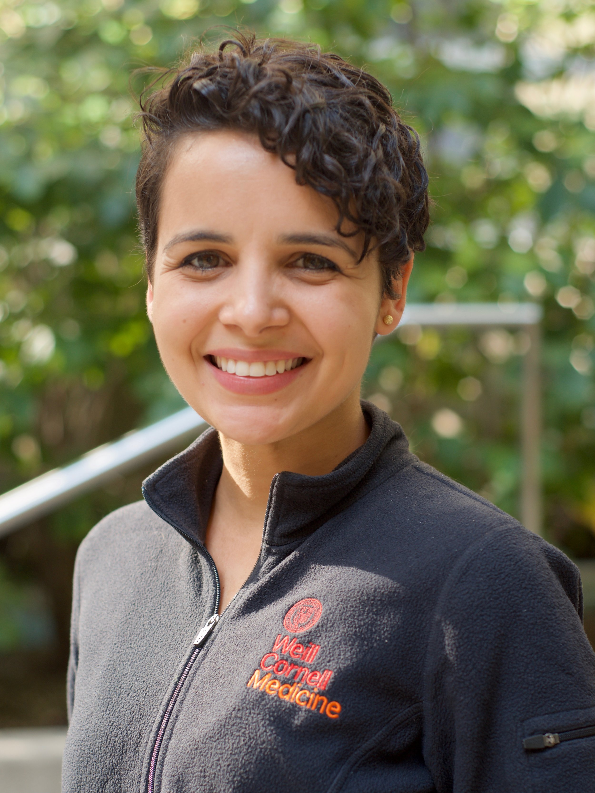 Thaís Klevorn - Thaís is from Rio de Janeiro, Brazil. She completed her Bachelors in Biomedical Science at Bahiana School of Medicine and Public Health in Brazil with one year at Barnard College of Columbia University in NY as part of the Science Without Borders program. In Brazil, she did research on the immune response against Leishmania spp. at Oswaldo Cruz Foundation and Federal University of Sergipe. Before starting graduate school at Weill Cornell, she worked as a research technician at New York University, studying mechanisms of T cell evasion by Mycobacterium tuberculosis. She joined the Ehrt lab in June 2019 because she loves infectious disease research and could not think of a better lab in the world to carry out her PhD. Thaís also loves cycling, hiking and camping, but if the weather is bad, there is nothing like a cooperative-strategy board game session.