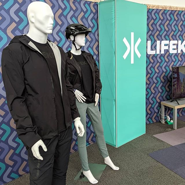 Bringing #outdoorretailer the brand that's taking #wearabletechnology to new places! #wearlifekey #or2019 #wearables  #wearabletech #ehealth #technology