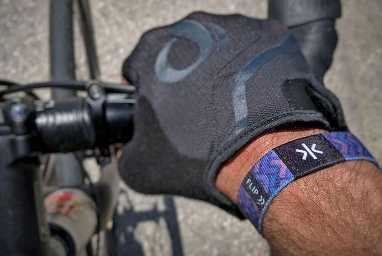 The Lifekey® Connected Strap is waterproof, durable and doesn't require batteries or charging.