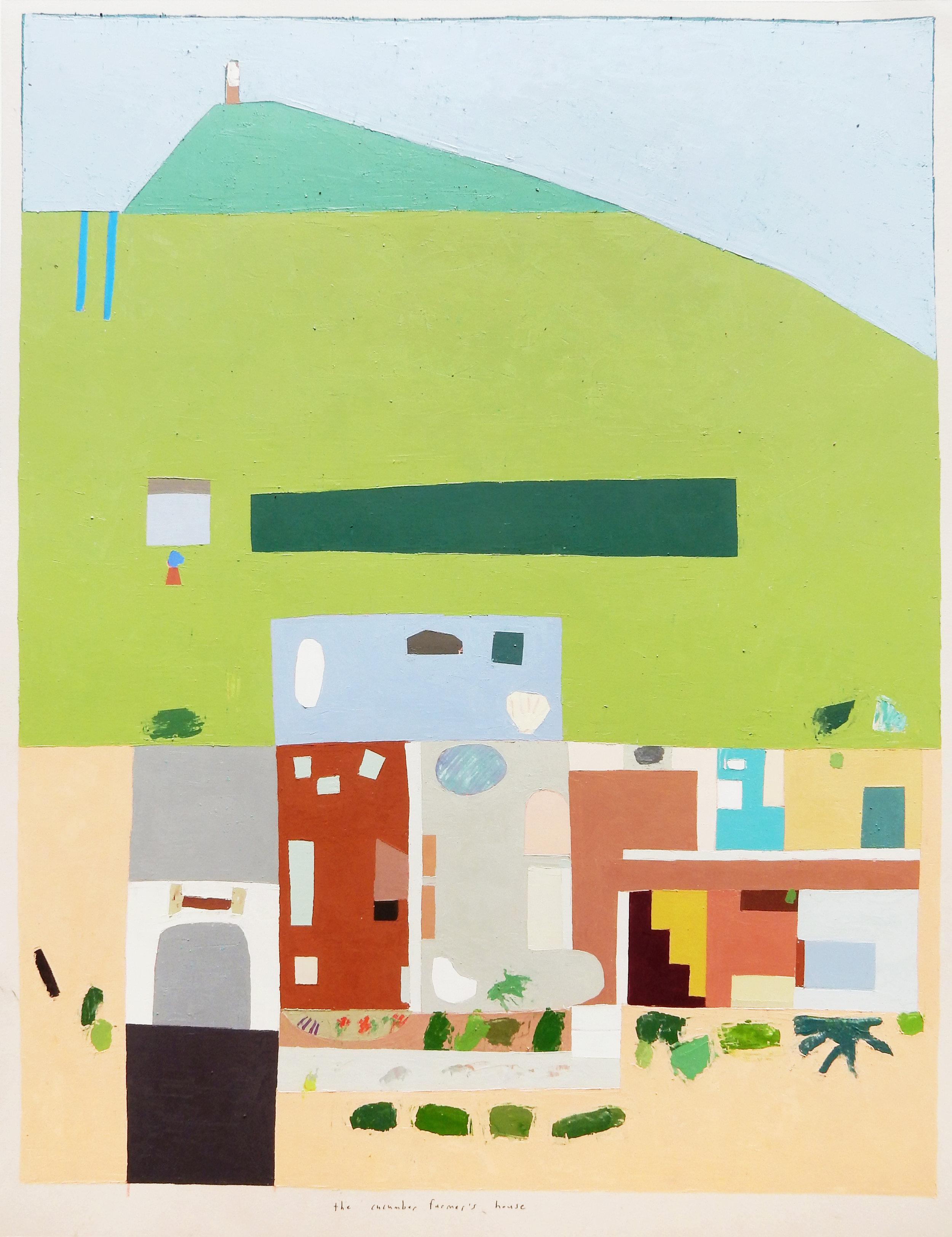 01_the cucumber farmer's house_24 x 18 in_oil on paper_2016.jpg