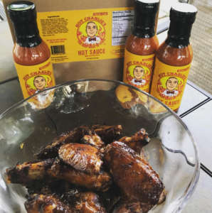 HOT CHARLIE'S™ DEVIL WINGS - Cook wings for an hour on smokerTake off smoker and toss in #hotcharliesPut on red hot grill for 10 minutes to get that BBQ crustLet cool for a few minutesLet the festivities begin!