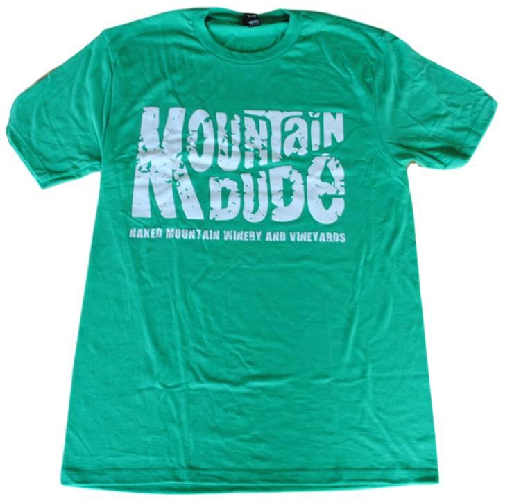 $19  Mountain Dude T-Shirt (Front)
