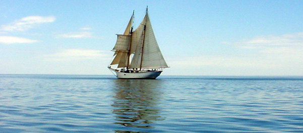 Sailing the North Atlantic aboard the SSV Corwith Cramer.
