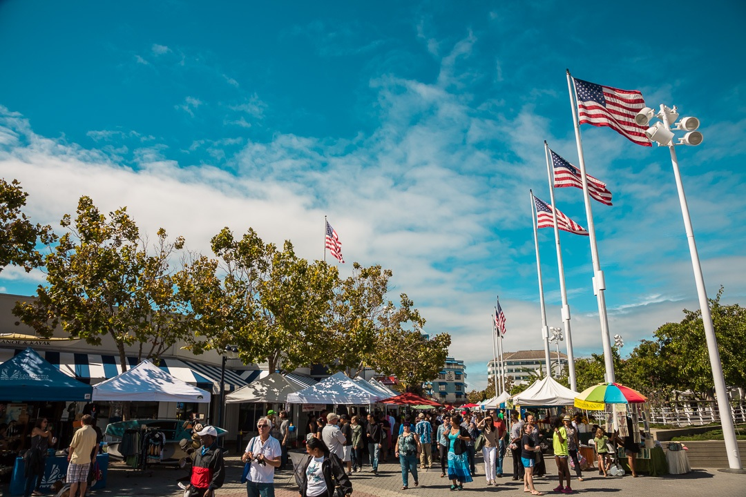 Jack London Square eat real festival at the Port of oakland