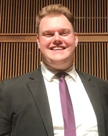 2018-2019 Collegiate Winner Steven Christophersen - Clarinetist Steven Christophersen, a junior at Taylor University, was chosen as the winner of the Collegiate Division for his performance of the third movement of Weber's Concerto No. 2 in E-b Major. Steven will perform with the MPO during the opening concert of the 2019-2020 season, Sci-Fi Spectacular. Runner-up in the Collegiate Division was vocalist Daniel Kane, a junior at Indiana Wesleyan University. Daniel performed Fecit Potentiam by C.P.E. Bach.