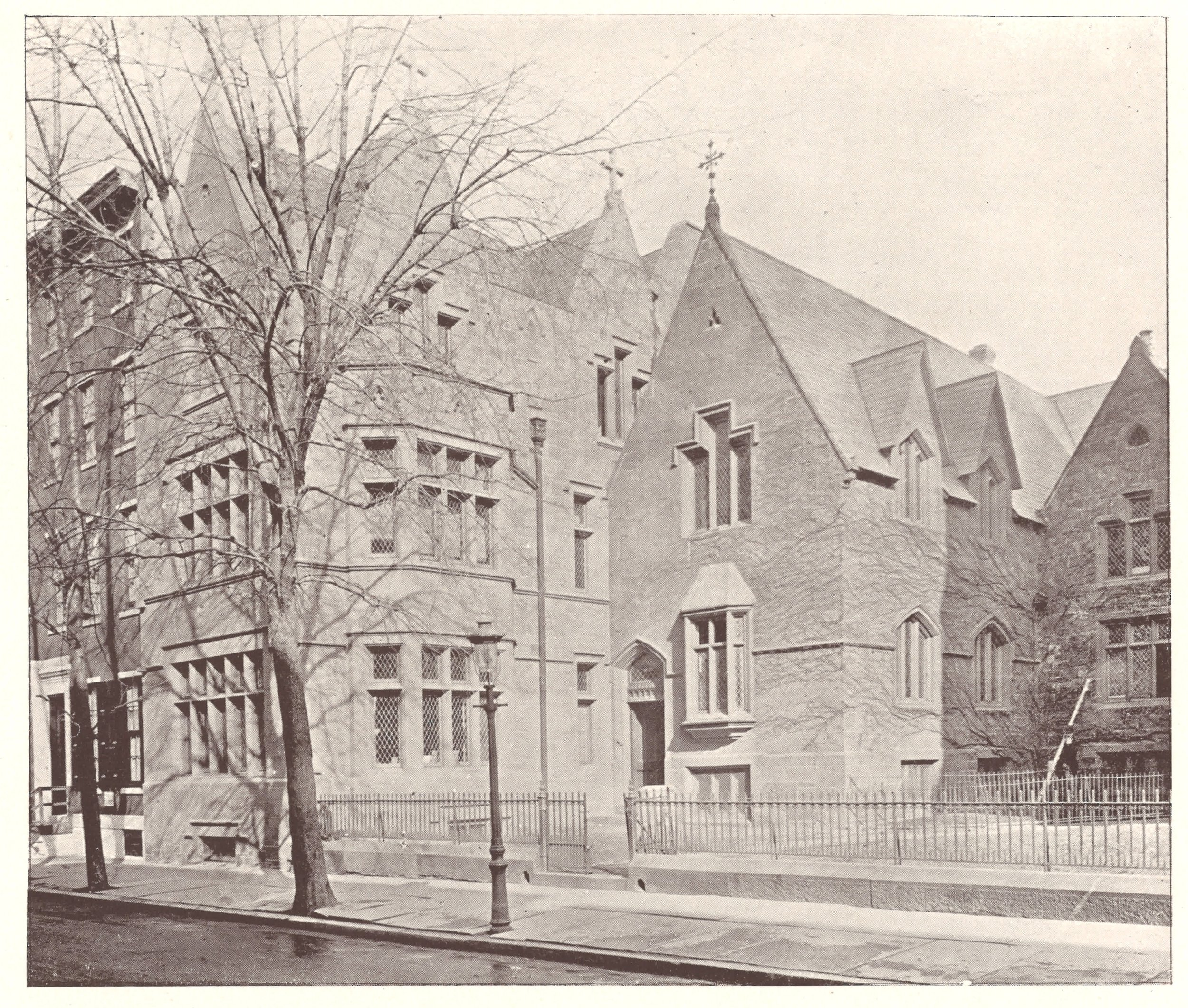 St. Mark's Parish House, Philadelphia, PA - 1894
