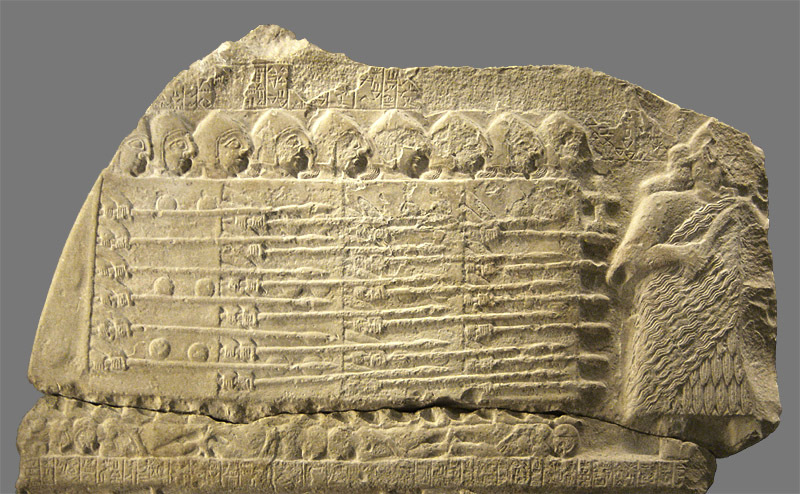 Ancient Sumerians forming a Secure Credentials Phalanx