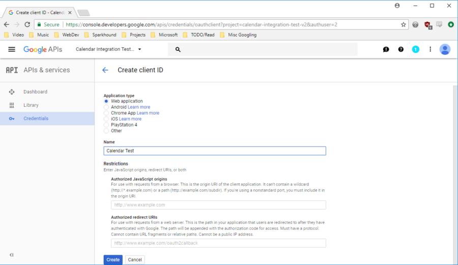 Google Oauth Integration using an MVC ASP Net App — Sparkhound