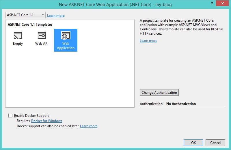 ASP.NET Core Options