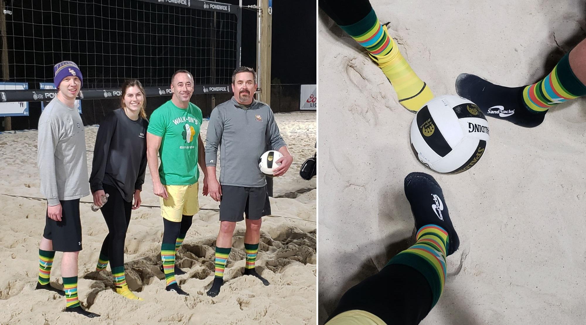 Sparkhound's sand volleyball team