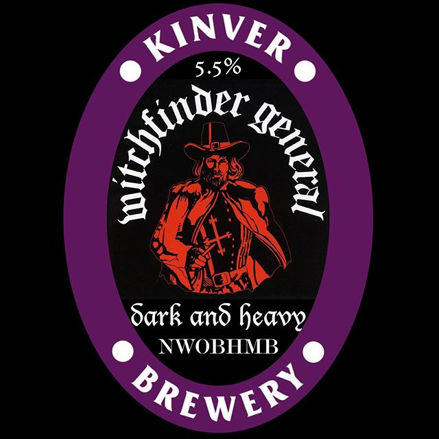 Hey Beer Braggers! Tomorrow night at the Robin Hood, Stourbridge, we're launching our brand new collaboration with Witchfinder General that we brewed with guitarist Phil Cope. It's a 5.5% porter, so it's dark and heavy like the band! #LetsAvaDrink! . . . . . #WitchfinderGeneral #CollabBrew #Porter #RobinHoodStourbridge #RealAle #CraftBeer #RobinHoodAmblecote #NWBHM #CAMRAStourbridge