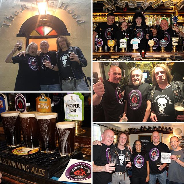 Big thanks to everyone that came to the launch of Witchfinder General Strong & Heavy Porter Wednesday night! The beer was sold out within 2.5 hours! 🍻🎉 It'll be available around the Midlands from now until its gone! Be great to see you tag us with where you're drinking it!  #WellDoneEveryone! #LetsAvaDrink! Credit to @snettawright for photo contributions 🍻 . . . . #WitchfinderGeneral #Porter #NWOBHM #RealAle #CraftBeer #CAMRAStourbridge #CollabBrew #CAMRAWestMidlands #RobinHoodAmblecote #NWBHM #RobinHoodStourbridge #BeerBraggers