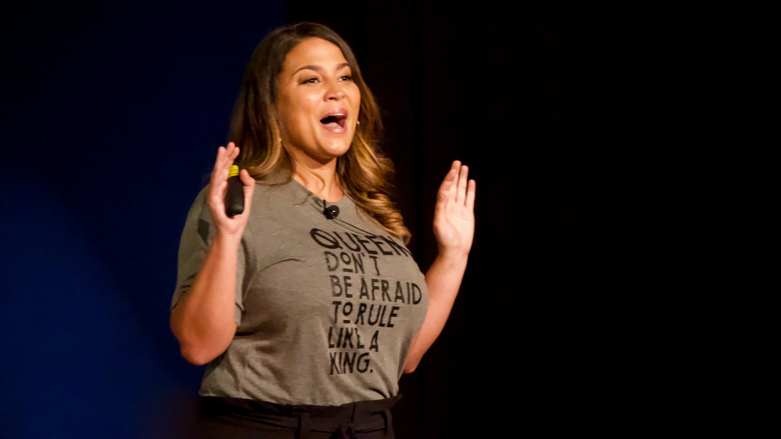 """Speaker - I'm a two-time TEDx speaker. I speak at events & meetings focusing on messages that bring us all towards speaking & living our truth and embracing our """"otherness"""" to connect through our shared humanity."""