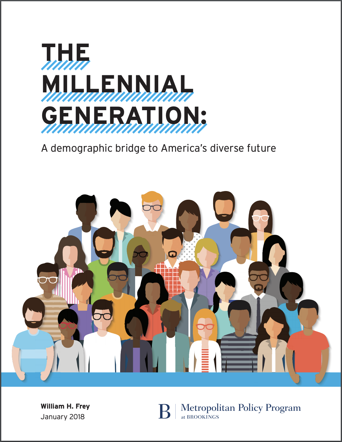 Report: The millennial generation: A demographic bridge to America's diverse future