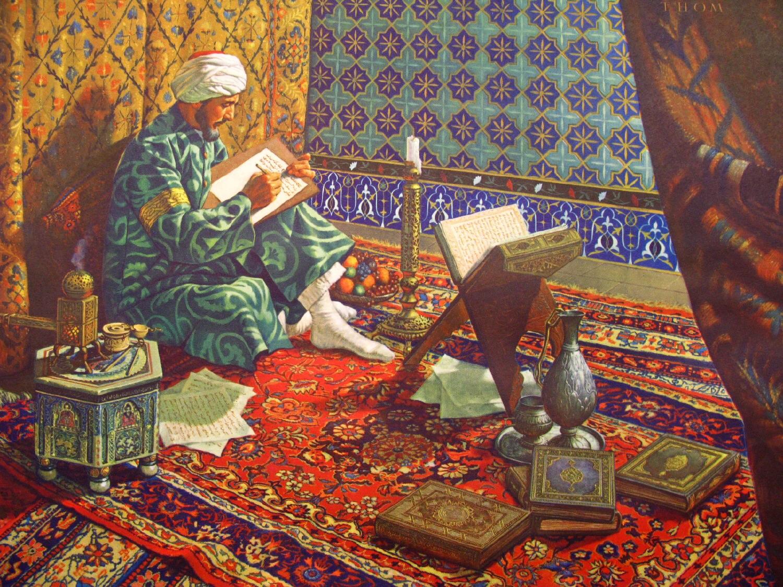 Hakim Ibn Sina (Avicenna), the 10th century father of modern medicine.