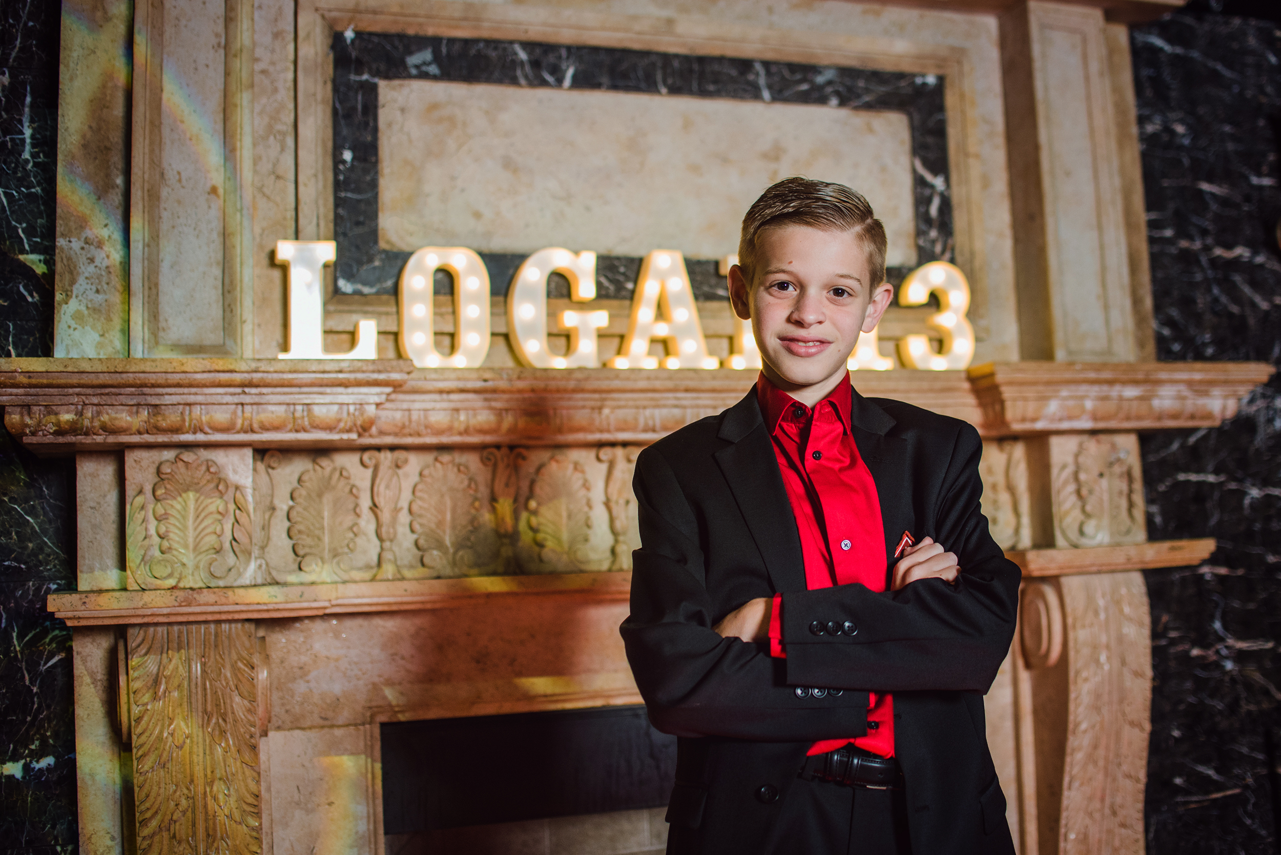 Mazel Tov Logan! - We had such an amazing time hosting Logan and his family and friends for his Bar Mitzvah!Special thanks to all of our partners for working with us to create such a special day for Logan's family & friends!