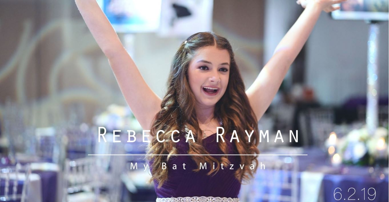Mazel Tov Becca! - We had such an amazing time hosting Becca for her Bat Mitzvah. It was a truly memorable affair and a beautiful day for all involved.Special thanks to all of our partners for working with us to create such a special day for Becca's family & friends!Check out the Video Below!