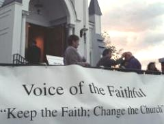 Voice of the Faithful action